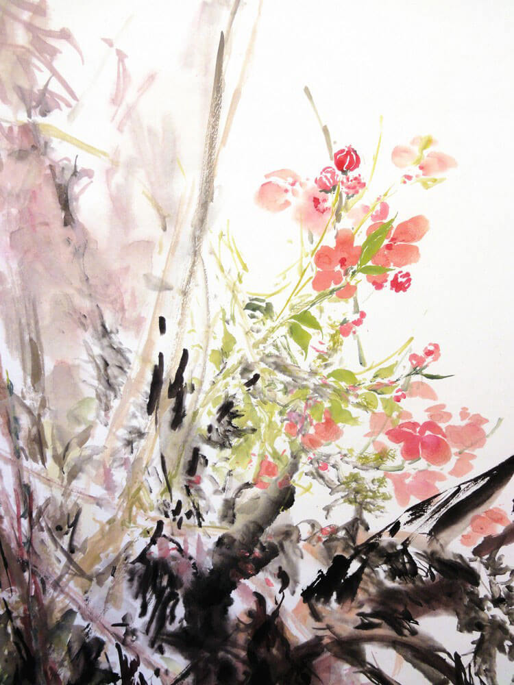 Karin Zhang - Malerei - Long Bao Schule für chinesische Kampfkunst ...